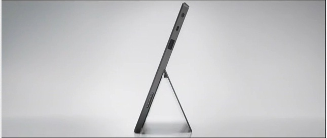 side view microsoft surface