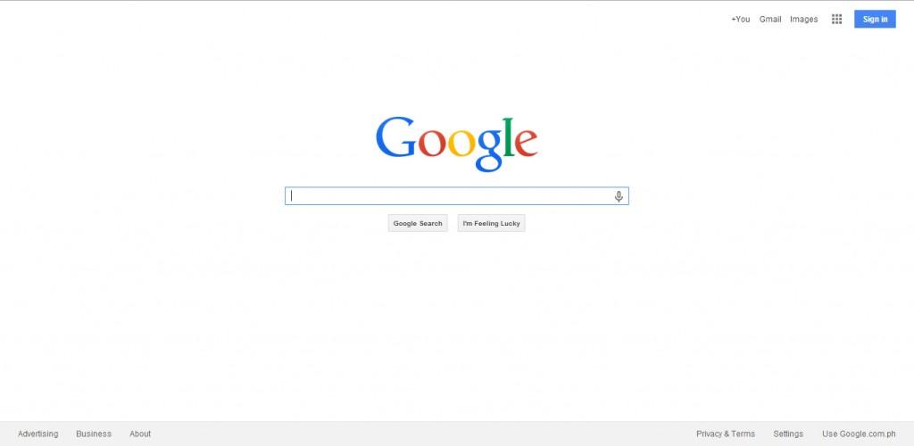 Google Search Interface