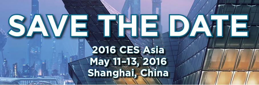CES Asia 2016 Registration is now Open!
