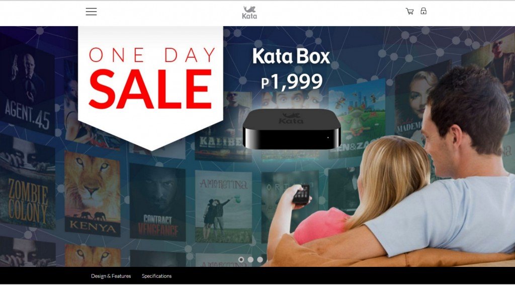 Buy A Katabox On February 12, 2016 For Only P1,999