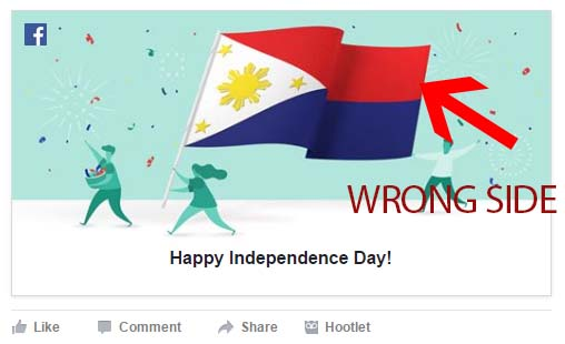 Facebook Got Philippine Independence Day Greeting Wrong
