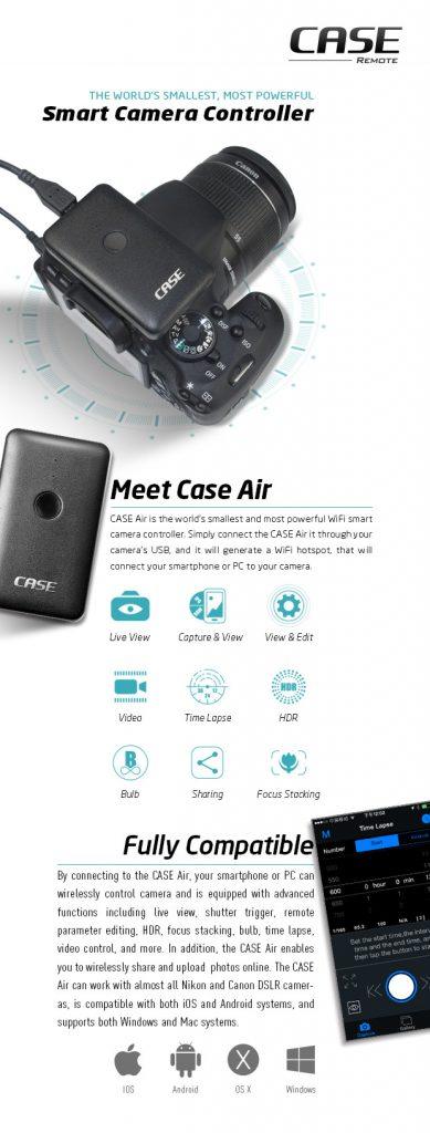 Case Camera AIR