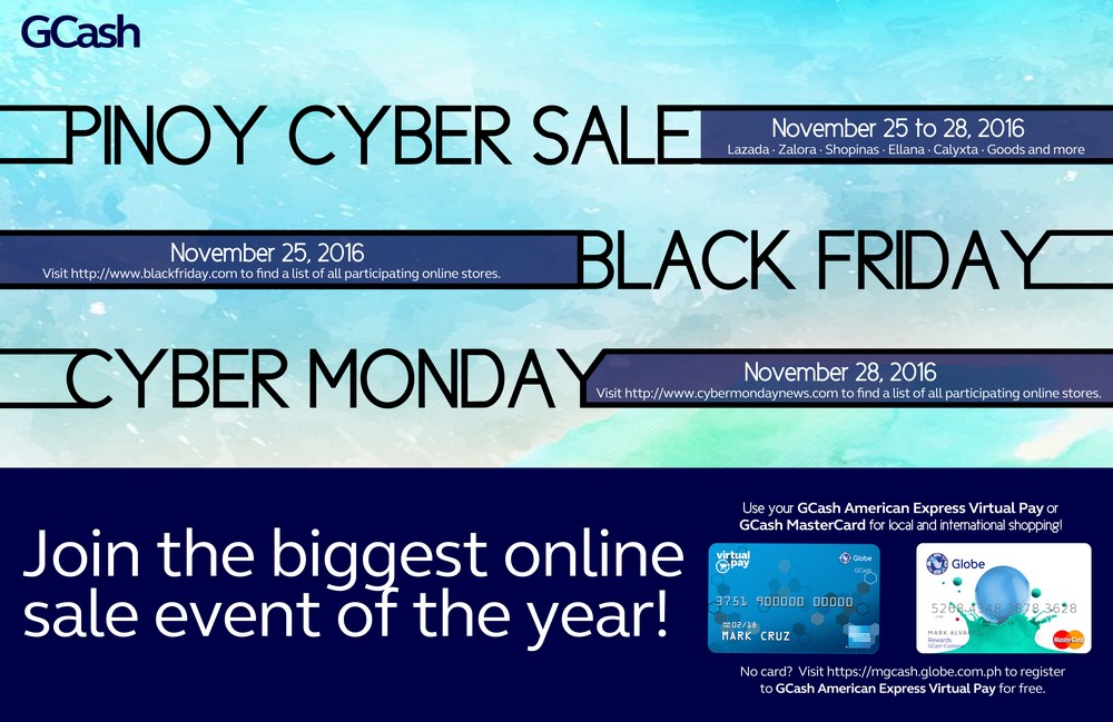 Best Online Bargain And 20% Rebate With GCash American Express Virtual Card