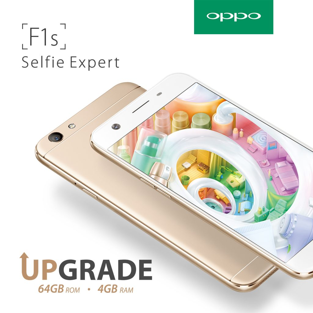 OPPO Introduces An Upgraded F1s