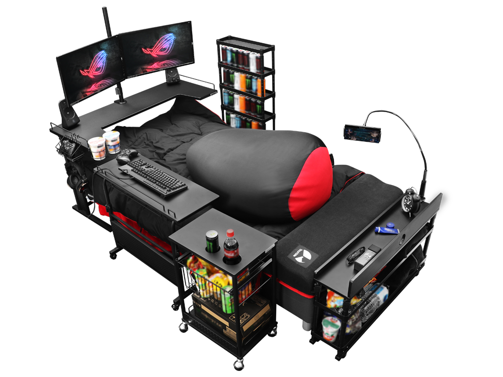 Gaming Beds: Play, Eat, Sleep, Repeat!