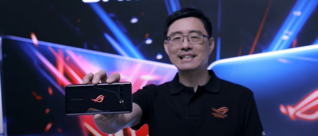 Photo of ASUS Executive showing the ROG Phone 3