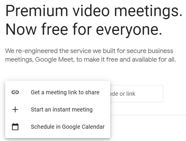 """A screenshot of the Google Meet website for the """"How to Use Google Meet on Your Computer, Phone, or Tablet"""" blog post in the TechToGraphy website. The photo is consist mainly of text."""