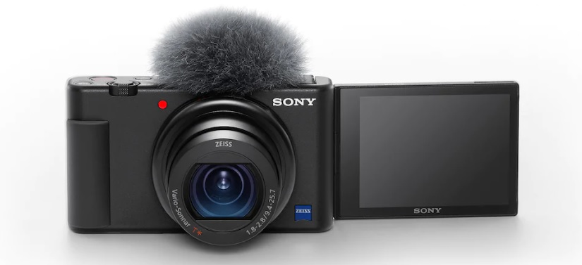Photo of the Sony ZV-1 camera