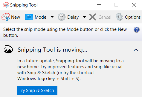 """A screenshot of the Snipping Tool. This photo is for the """"How to Screenshot in Laptop"""" blog of TechToGraphy."""