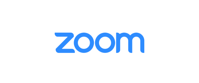 """A screenshot of the logo of Zoom from the Zoom Cloud Meetings app. This photo is for the """"How to Use Zoom"""" blog of TechToGraphy."""